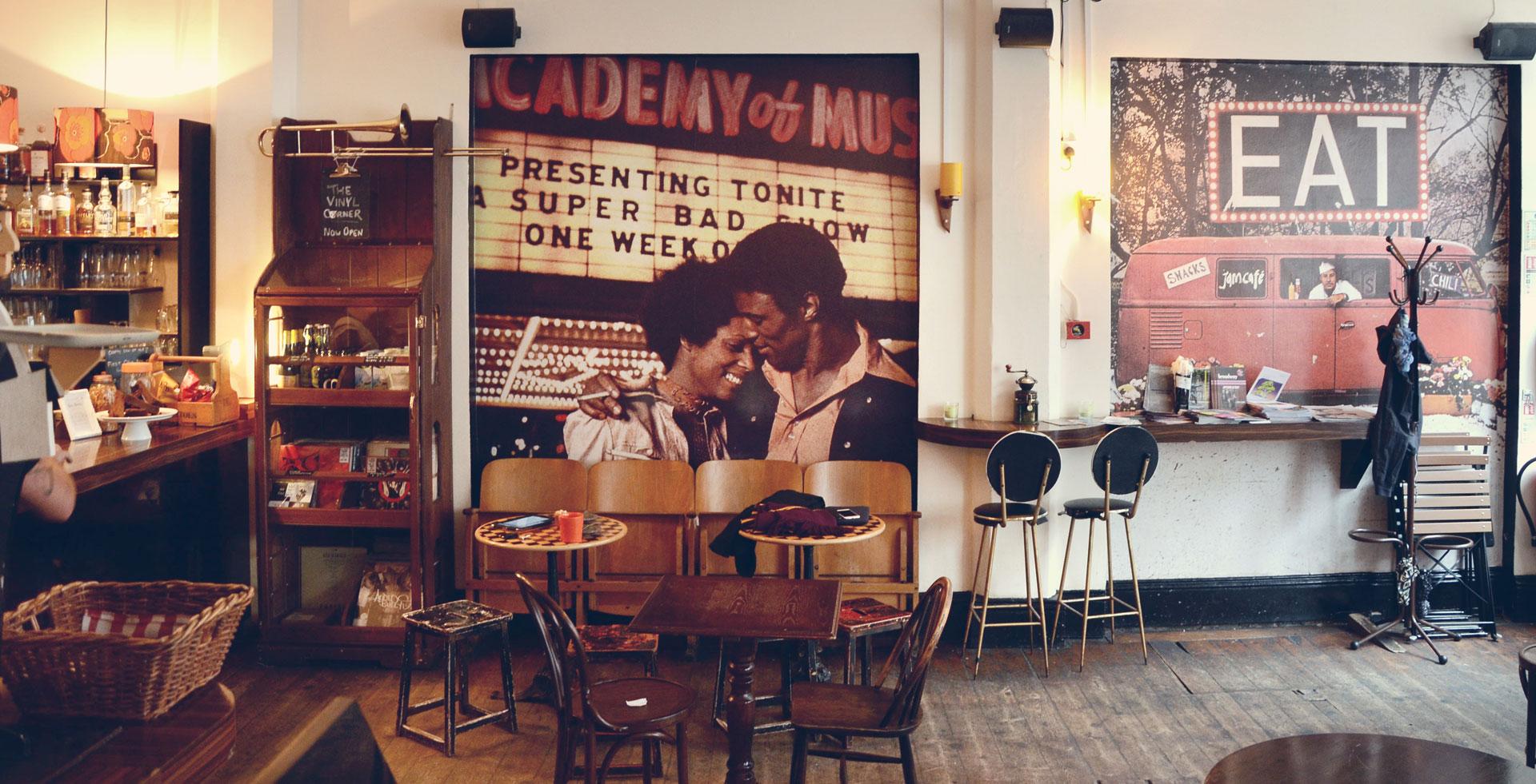 (image of Jamcafe bar) Jamcafe