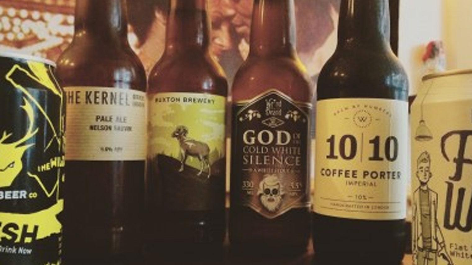 Fresh New Bottles & Cans in The Fridge